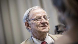 Le professeur Bertrand Dautzenberg, pneumologue. (MARLENE AWAAD / MAXPPP)