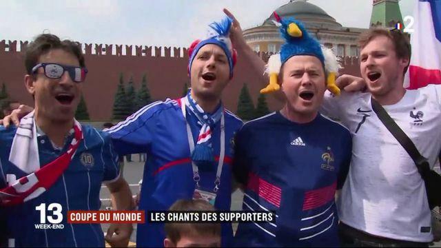 Finale de la Coupe du monde : les supporters français ont inventé de nombreux chants