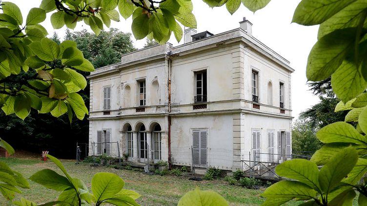 """La villa Viardot à Bougival (Yvelines), l'un des """"lieux emblématiques"""" de la mission Bern en Ile-de-France.   (FRANCOIS GUILLOT / AFP)"""