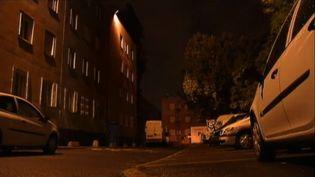 Dans la cité de l'Abreuvoir à Bobigny (Seine-Saint-Denis), où a eu lieu la fusillade. (FRANCE 2 / FTVI)
