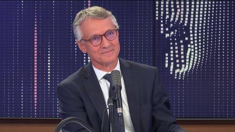 Jean-François Ricard, procureur de la République antiterroriste, était l'invité de franceinfo lundi 31 août. (FRANCEINFO / RADIOFRANCE)