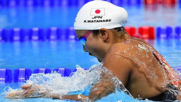 Premier titre mondial pour Kanako Watanabe (ALEXANDER NEMENOV / AFP)