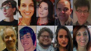 Les portraits des victimes des attentats de Bruxelles du 22 mars 2016. (FACEBOOK / DR / FRANCETV INFO)