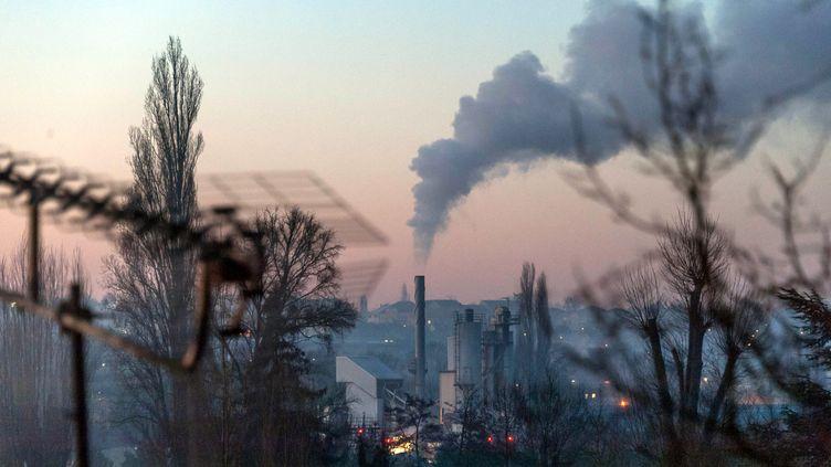 La taxe carbone pèseà 60% sur les ménages. Auvers sur Oise,15 février 2019. (Illustration) (MAXPPP)