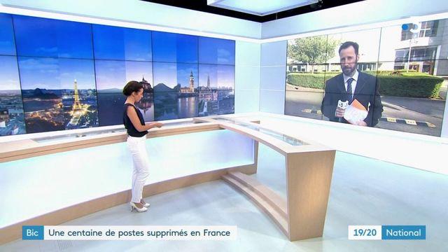 Bic : des dizaines d'emplois supprimés en France