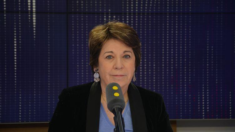 """Corinne Lepage, ancienne ministre de l'Environnement, auteure de """"A bout de confiance"""". (JEAN-CHRISTOPHE BOURDILLAT / RADIO FRANCE)"""