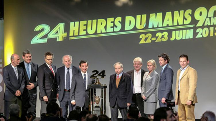 La conférence de presse des 24 heures du Mans 2013