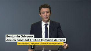 Municipales : Benjamin Griveaux renonce à la bataille de Paris (FRANCEINFO)