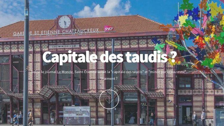 """(© Capture d'écran du site """"Stéphanois Fiers"""")"""