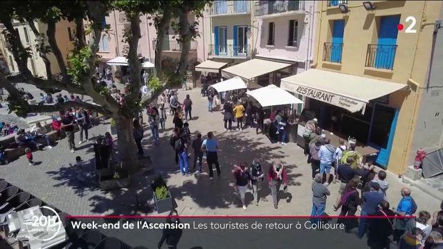 Pont de l'Ascension : Collioure reprend des couleurs grâce aux touristes