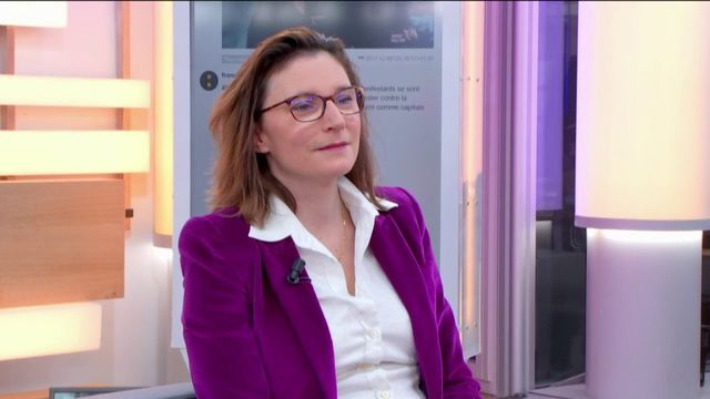 """Caroline Young, la présidente de la société Experconnect était l'invitée ce lundi 11 décembre de Jean-Paul Chapel dans l'émission """":L'éco"""" pour parler de son entreprise qui favorise les collaborations post-retraites."""