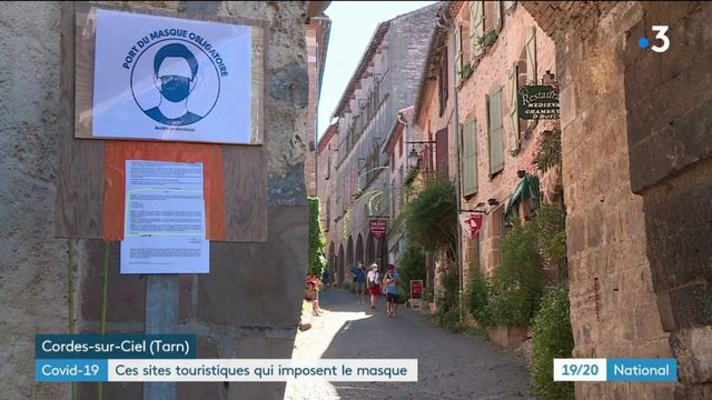 Coronavirus : certains sites touristiques imposent le port du masque