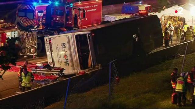 Drôme : accident de bus mortel