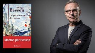 """Philippe Besson publie """"Un personnage de roman"""" (Julliard), sur le président Emmanuel Macron  (JOEL SAGET / AFP)"""