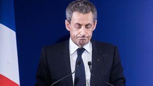 Nicolas Sarkozy, à Paris, le 20 novembre 2016. (MAXPPP)