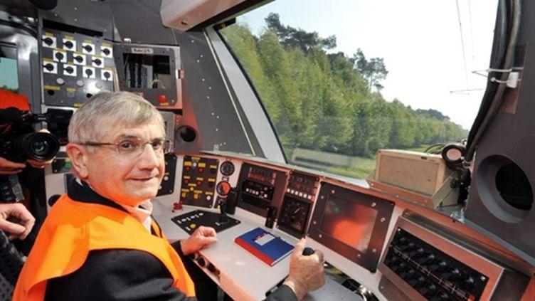 Serge Mery, à l'époque vice-president du syndicat des Transports d'Ile-de-France (STIF), le 24 avril 2009 (AFP PHOTO / MIGUEL MEDINA)