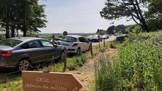 Bénouville, dans le Calvados. (CAPTURE ECRAN FRANCE 3)