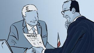 Le gouvernement semble, plus que jamais, miser sur le nudge. (NICOLAS DEWIT / RADIO FRANCE)