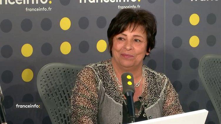 Marie-Christine Dalloz, députée Les Républicains du Jura, était l'invitée de franceinfo mercredi 17 juillet 2019. (FRANCEINFO)