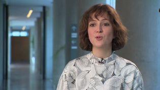 """La linguiste Aurore Vincenti, auteur du livre """"Les mots du bitume"""". (FRANCEINFO)"""