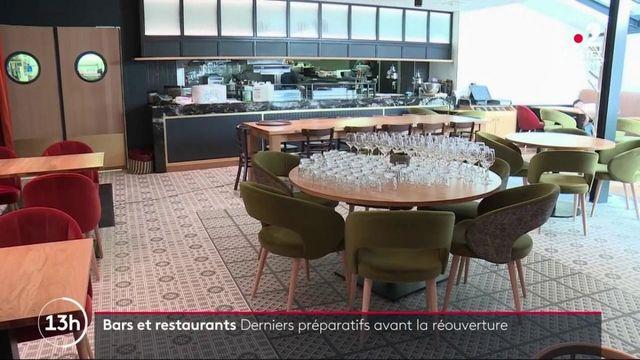 Bars et restaurants : derniers préparatifs avant la réouverture