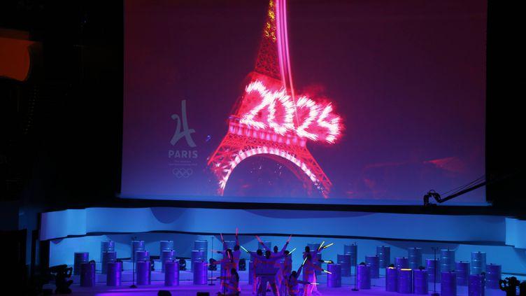 """""""La force d'un rêve"""" est le slogan de campagne choisi par le comité de candidature de Paris aux JO 2024"""