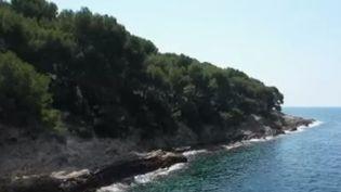 Le littoral près deSaint-Jean-Cap-Ferrat (Alpes-Maritimes). (France 2)