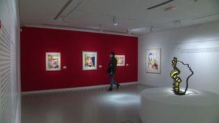 Exposition Roy Lichtenstein au BAM de Mons. (France 3 Nord-Pas-de-Calais / Y. Fossurier)