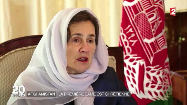 En Afghanistan, la Première dame est chrétienne