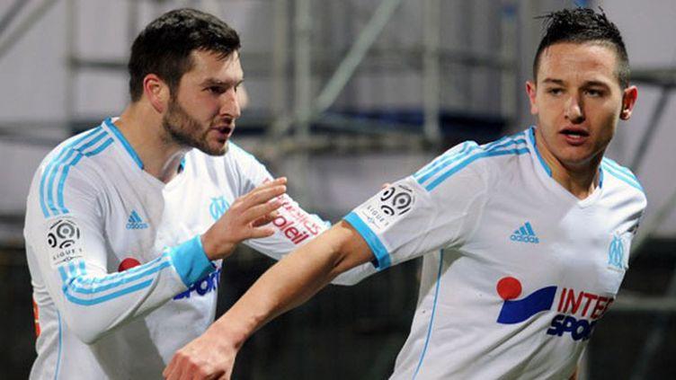 Les deux joueurs de l'OM, André-Pierre Gignac et Florian Thauvin