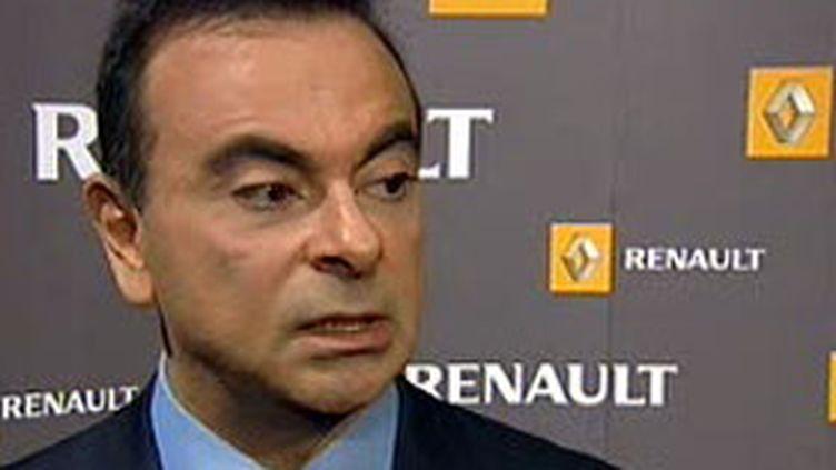 Le PDG de Renault, Carlos Ghosn. (France 2)