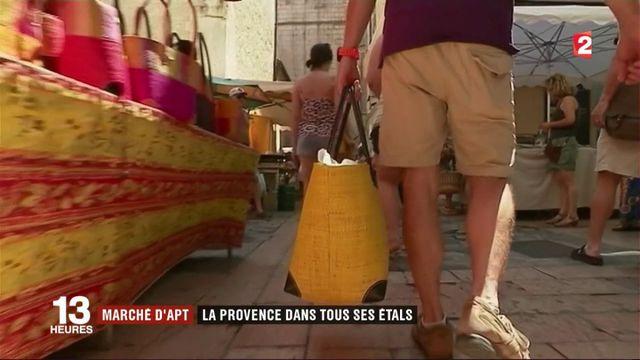Marché d'Apt : toute la Provence sur les étals