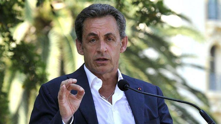 (Nicolas Sarkozy ne veut pas culpabiliser les électeurs du FN © BEBERT BRUNO/SIPA)