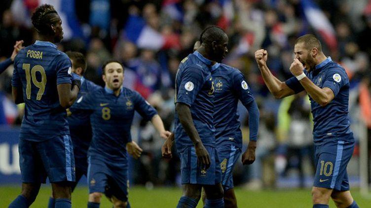 Les joueurs de l'équipe de France