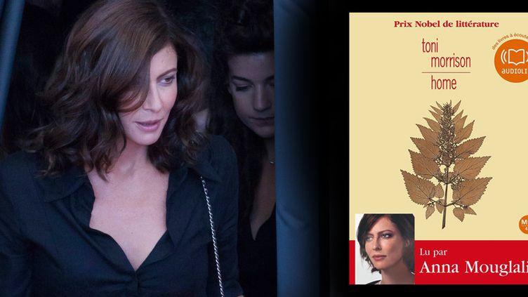 """Prix 2014 du livre audio à """"Home"""" de Toni Morrison lu par Anna Mouglalis  (WOSTOK PRESS/MAXPPP)"""
