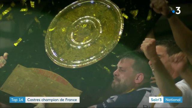 Top 14 : Castres champion de France