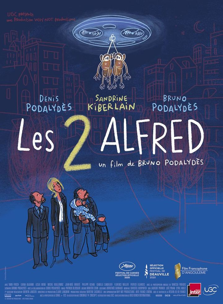 """Poster of """"The 2 Alfred"""" by Bruno Podalydès"""" (2020).  (UGC DISTRIBUTION)"""