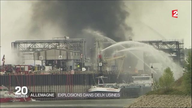 Allemagne : explosions dans deux usines