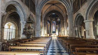 L'intérieur de la cathédrale d'Oloron-Sainte-Marie, dans les Pyrénées-Atlantiques. (G. LENZ / ARCO IMAGES / ARCO IMAGES GMBH)