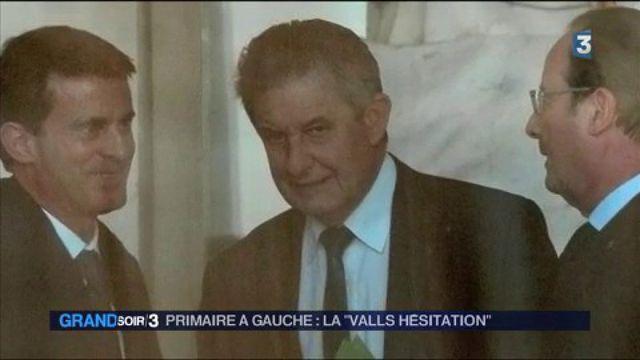 Valls hésitation