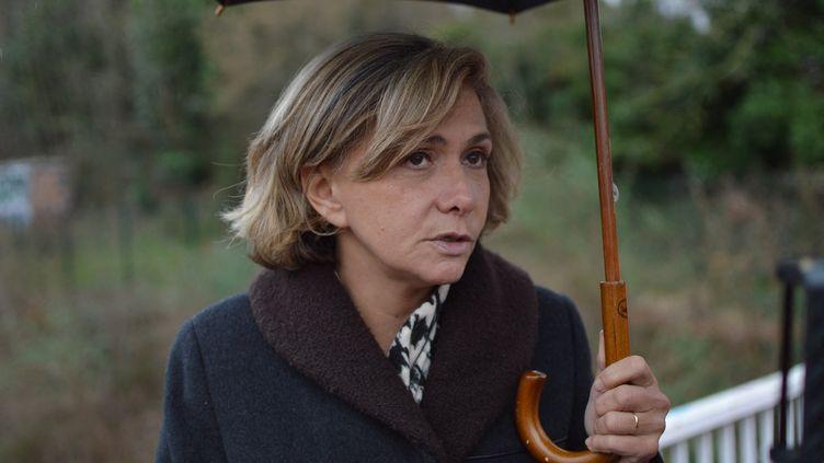 La président de la région Île-de-France, Valérie Pécresse, en février 2020. (VICTOR VASSEUR / RADIO FRANCE)