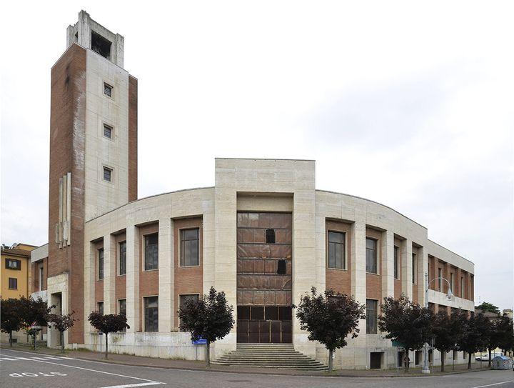 C'est l'anciensiège régional du parti fascistede Benito Mussolini, àPredappio, qui abritera le musée du fascisme. (FAUSTO FABBRI)