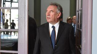 L'ex ministre de la Justice, François Bayrou, le 13 juin 2017 à Béthune (Pas-de-Calais). (MAXPPP)
