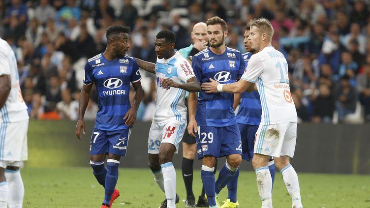 Le choc entre Lyon et Marseille est déjà lancé (PHILIPPE LAURENSON / BLUEPIX)