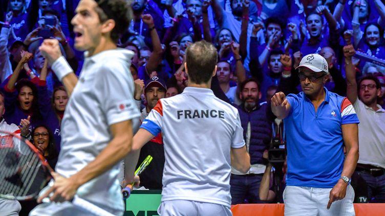 Richard Gasquet et Pierre-Hugues Herbert apportent un point à la France
