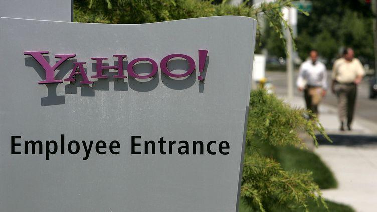 Le siège de Yahoo! à Sunnyvale, en Californie (Etats-Unis), le 18 juillet 2006. (JUSTIN SULLIVAN / GETTY IMAGES NORTH AMERICA)