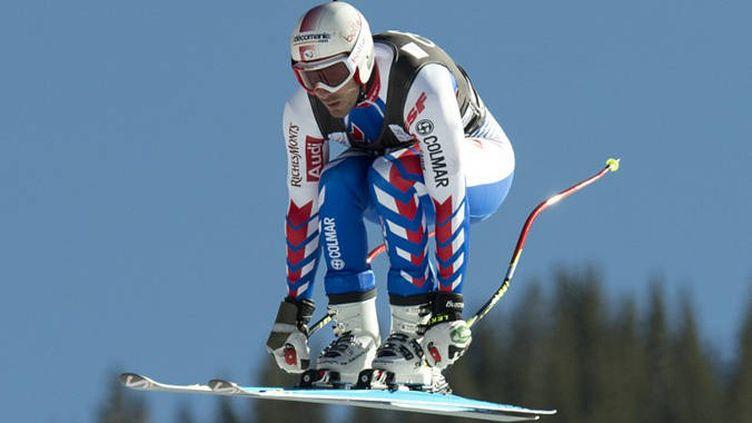 Adrien Théaux en plein saut