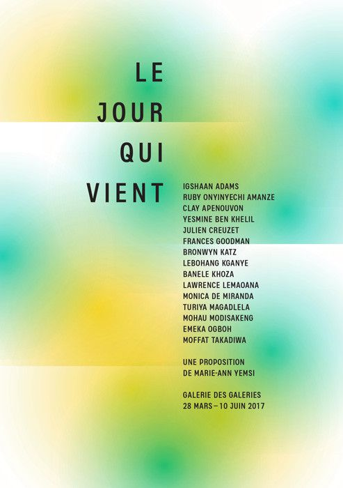 """Exposition """"Le jour qui vient"""" à la Galerie des Galeries  (Galeries Lafayette )"""