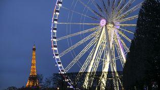 La Grande roue est installée chaque saison place de la Concorde à Paris depuis 1993. (VINCENT ISORE / MAXPPP)