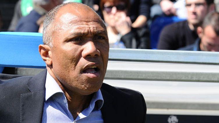 L'entraîneur du RC Lens, Antoine Kombouaré